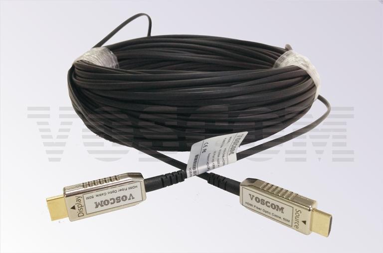 20m Hdmi Cable >> HDMI over Fiber Cable, VOS-CAB-HDMI-20M